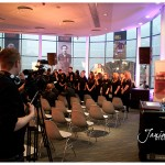 with Manchester United Foundation Choir